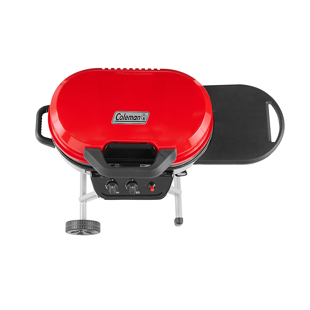 Coleman RoadTrip 225 Portable Stand Up Propane Grill, Red ...